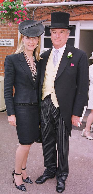 LORD & LADY BELL at Royal Ascot on 15th June 1999.MTG 6