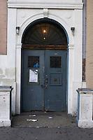 Doorway in Chelsea Manhattan New York
