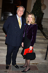 MR DAVID McDONOUGH and LADY MARY-GAYE CURZON at Carols from Chelsea in aid of the Institute of Cancer Research at the Royal Hospital Chapel, Chelsea, London on 1st December 2005.<br /><br />NON EXCLUSIVE - WORLD RIGHTS