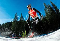WEGER Benjamin (SUI) competes during Men 12,5 km Pursuit at day 3 of IBU Biathlon World Cup 2014/2015 Pokljuka, on December 20, 2014 in Rudno polje, Pokljuka, Slovenia. Photo by Vid Ponikvar / Sportida