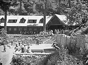 9216-02. Crater Lake Lodge, 1940s