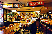 Bartender at the former Howard Johnson's in Times Square, NYC