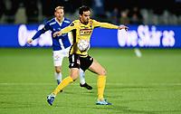 Fotball , 29 . oktober 2017 , Eliteserien , <br /> Sarpsborg - Sandefjord 5-0<br /> Enric Valles Prat , Sandefjord