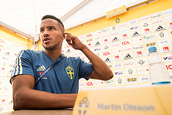 July 4, 2018 - Gelendzhik, Russia - 180704 Martin Olsson of the Swedish national football team in the mixed zone during the FIFA World Cup on July 4, 2018 in Gelendzhik..Photo: Petter Arvidson / BILDBYRN / kod PA / 92081 (Credit Image: © Petter Arvidson/Bildbyran via ZUMA Press)