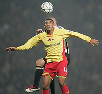 Photo: Marc Atkins.<br /> Watford v Newcastle United. Carling Cup. 07/11/2006.<br /> Hameur Bouazza of Watford in action.