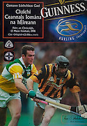 All Ireland Senior Hurling Championship - Final, .13.09.1998, 09.13.1998, 13th September 1998, .13091998AISHCF,.Senior Kilkenny v Offaly, .Minor Kilkenny v Cork,.Offaly 2-16, Kilkenny 1-13,..