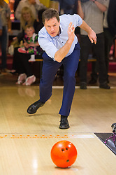 File photo dated 12/04/15 of Nick Clegg taking part in ten-pin bowling during a General Election campaign visit to Colchester, Essex. Nick Clegg has lost his Sheffield Hallam seat to Labour.
