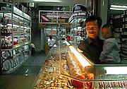 Vietnam, Dien Bien Phu : watches seller.
