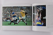 Tipperary's Pat Fox is shadowed by Antrim's Dessie Donnelly in the 1989 All-Ireland final.