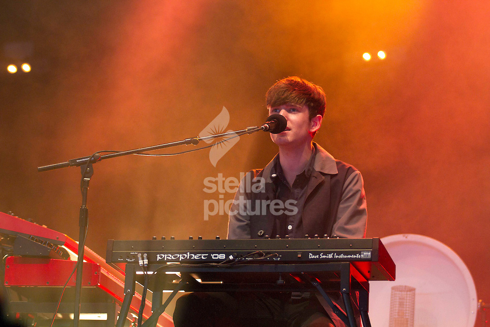 Picture by Sophie Elbourn/Stella Pictures Ltd +447595 944177<br /> 30/06/2013<br /> James Blake performs during day four of the Glastonbury Festival at Worthy Farm, Pilton.