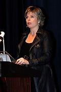 The Dutch Princess Laurentien attends a congress of the OSB in Ede, where she will speaks on illiterate .<br /> <br /> Hare Koninklijke Hoogheid Prinses Laurentien der Nederlanden spreekt over laaggeletterdheid tijdens het Nationaal OSB-Schoonmaakcongres in Ede
