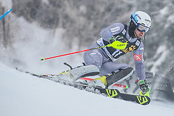 Victor Muffat-Jeandet (FRA) during 1st run of Men's Slalom race of FIS Alpine Ski World Cup 57th Vitranc Cup 2018, on March 4, 2018 in Kranjska Gora, Slovenia. Photo by Ziga Zupan / Sportida