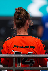 09-08-2019 NED: FIVB Tokyo Volleyball Qualification 2019 / Netherlands, - Korea, Rotterdam<br /> First match pool B in hall Ahoy between Netherlands - Korea (3-2) for one Olympic ticket / Orange support fan