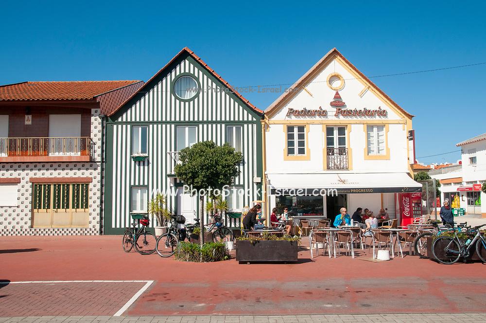 The small town of Sao Jacinto a civil parish in Aveiro Municipality, Aveiro District, Portugal.
