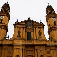 Europe, Germany, Munich. Theatinerkirche.