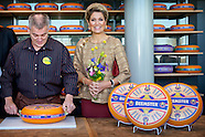 Queen Maxima visited the new Cono Cheese factory