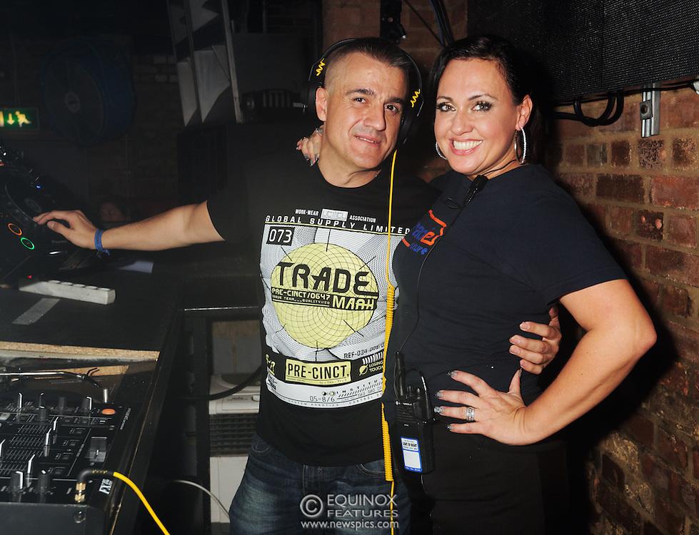 London, United Kingdom - 2 November 2013<br /> DJ Gonzalo Rivas DJing at the 23rd birthday party for Trade gay club night at Egg nightclub, York Way, King's Cross, London, England, UK.<br /> Contact: Equinox News Pictures Ltd. +448700780000 - Copyright: ©2013 Equinox Licensing Ltd. - www.newspics.com<br /> Date Taken: 20131102 - Time Taken: 232554+0000