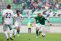 Stefan Savic of NK Olimpija Ljubljana during football match between NK Olimpija Ljubljana and NK Krsko in Round #35 of Prva liga Telekom Slovenije 2017/18, on May 23, 2018 in SRC Stozice, Ljubljana, Slovenia. Photo by Urban Urbanc / Sportida