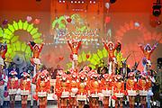 Nederland, Nijmegen, 10-11-2012De nieuwe prins carnaval, presenteert zich aan het volk van Knotsenburg tijdens een pronkzitting. Spectaculaire optredens van dansgroepen en een buutredner.Foto: Flip Franssen/Hollandse Hoogte