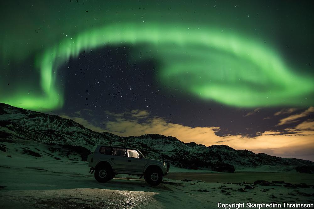 Aurora tour in Iceland
