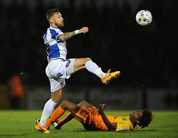 Matt Taylor of Bristol Rovers chases down the loose ball - Mandatory byline: Dougie Allward/JMP - 07966 386802 - 06/10/2015 - FOOTBALL - Memorial Stadium - Bristol, England - Bristol Rovers v Wycombe Wanderers - JPT Trophy