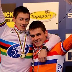 Lars van der Haarprolongeerde zijn wereldtitel terwijl Michiel van der Heijden brons pakte