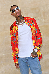 Tyga attends the Louis Vuitton Menswear Spring/Summer 2018 show as part of Paris Fashion Week on June 22, 2017 in Paris, France. Photo by Lionel Hahn/ABACAPRESS.com