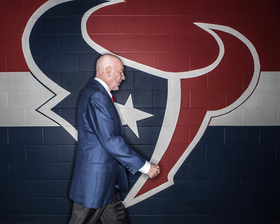Bob McNair - Football - Houston Texans - Houston, Texas - 2015