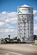 Water Tower In Santa Ana