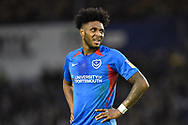 Ellis Harrison (22) of Portsmouth during the EFL Sky Bet League 1 match between Portsmouth and Ipswich Town at Fratton Park, Portsmouth, England on 21 December 2019.