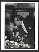 Lady Gowrie and the hon Nicholas Soames. Gala auction in aid of Courtauld Institute of Art fund. Sotheby's. London. 23/3/87.Exhibition in a Box