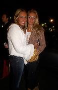 Tamara  and Petra Ecclestone, Crillon 2004 Debutante Ball. Crillon Hotel. Paris. 26 November 2004. ONE TIME USE ONLY - DO NOT ARCHIVE  © Copyright Photograph by Dafydd Jones 66 Stockwell Park Rd. London SW9 0DA Tel 020 7733 0108 www.dafjones.com