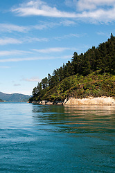 New Zealand, South Island: Scenic landscape near town of Picton on Marlborough Sounds. Photo copyright Lee Foster. Photo # newzealand125351