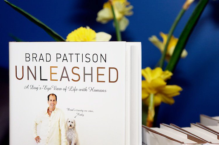Tails were wagging when renowned dog trainer, TV host and author, Brad Pattison arrived to promote his new book entitled Unleashed: A Dog's Eye View of Life with Humans.