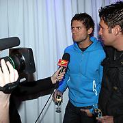 NLD/Uitgeest/20080116 - Uitreiking Popularitiets award Noord Holland 2008, Nick en Simon