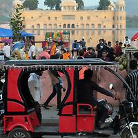 Along the lake in Jaipur, India.<br /> Photo by Shmuel Thaler <br /> shmuel_thaler@yahoo.com www.shmuelthaler.com