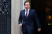 © Licensed to London News Pictures. 22/01/2013. Westminster, UK British Prime Minister David Cameron meeting the Emir of Qatar on Downing Street this afternoon 22 January 2012. Photo credit : Stephen Simpson/LNP