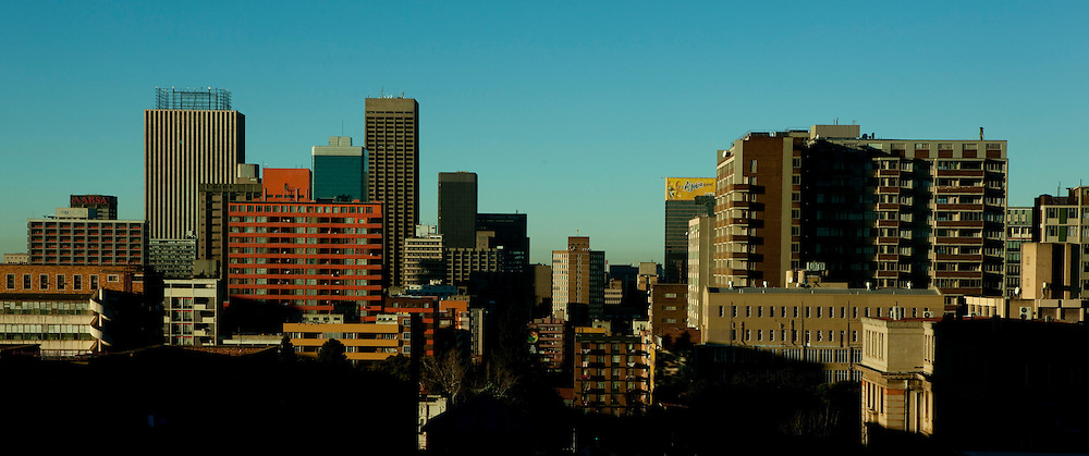 Cityscape images of Johannesburg, Gauteng, South Africa. Image by Greg Beadle