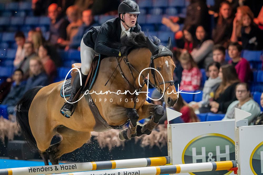 Kenis Pieter, BEL, Byzance Mail<br /> Jumping Mechelen 2019<br /> © Hippo Foto - Dirk Caremans<br />  26/12/2019