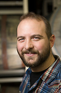 Kevin Martin är ölmakarchef [lead blender] på Cascade Brewings krog The Barrel House i Portland, Oregon. <br /> Foto: Christina Sjögren