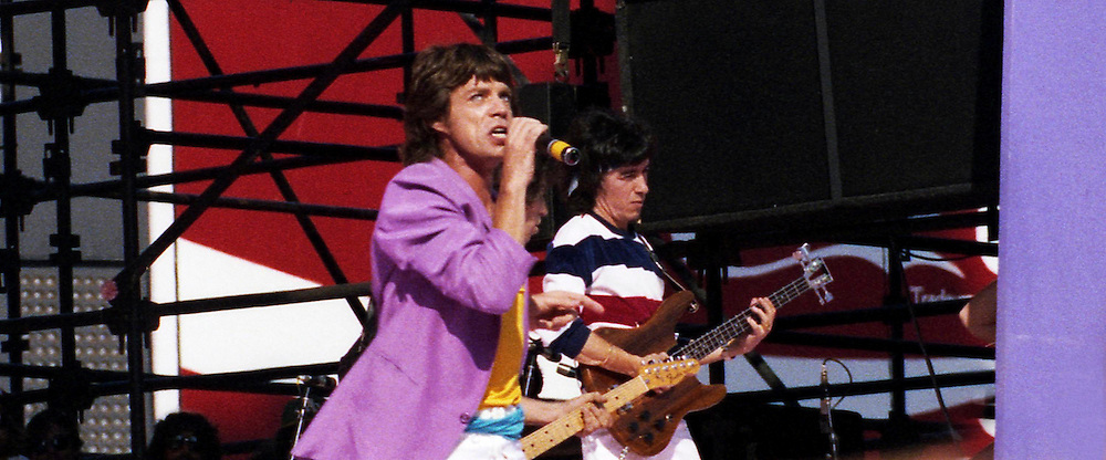 The Rolling Stones, San Francisco, 1981