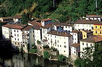 Italie, Toscane, Province de Lucca, Village thermal de Bagni di Lucca // Italy, Tuscany, Lucca province, Bagni di Lucca