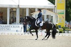 jMerkulova Inessa, (RUS), Mister X <br /> Grand Prix Special<br /> CDIO Hagen 2015<br /> © Hippo Foto - Stefan Lafrentz<br /> 11/07/15