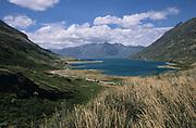 Lake Wanaka, New Zealand, altitude of 300 metres, New Zealands fourth largest lake