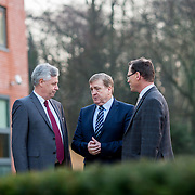 20.01.17<br /> Minister of State for Employment and Small Business, Deputy Pat Breen addressed a seminar for SMEs on The Role of Education in Supporting Small Business at University of Limerick.<br /> <br /> Pictured at the event were, Dr. Phillip O'Regan, Dean of Kemmy Business School, UL, Minister of State for Employment and Small Business, Deputy Pat Breen and Prof. Edmond Magner, Dean of Science and Engineering UL.<br /> <br />  Jointly hosted by the Kemmy Business school and the faculty of Science and Engineering, the event brought together small and medium enterprises along with representative bodies, Local Enterprise Offices, Chambers of Commerce, Irish Small and Medium Enterprises association (ISME), Enterprise Ireland and the IDA. The aim of the event was to stimulate greater collaboration between third level institutes and SMEs in relation to research, education and business advice. To date, University of Limerick and Limerick Institute of Technology have supported a number of start-ups through the Nexus Innovation Centre and LIT's Enterprise Centres while academic staff have provided expert advice to local companies. Picture: Alan Place