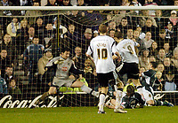 Photo: Leigh Quinnell.<br /> Derby County v Plymouth Argyle. Coca Cola Championship. 30/12/2006. Morten Bisgaard scores a last gasp winner for Derby.