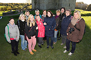 Tourism Ireland representative, Julie O`Connell with German travel agent representatives at Trim Castle. Saturday 27th October 2012. .Photo: David Mullen / www.cyberimages.net .©David Mullen