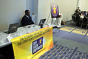 April 17, 2012 Washington, D.C: Atmosphere at Rev. Al Sharpton's  2012 National Action Network Conventionheld at the Walter E. Washington Convention Center from April 11-14, 2012 in Washington, D.C ..National Action Network (NAN) is one of the leading civil rights organizations in America and is at the forefront of the social justice movement, confronting issues such as police misconduct and abuse, voter rights, education, workers' right, healthcare awareness, anti-violence and more. Founded in New York City in 1991 by Rev. Al Sharpton and a group of activists, NAN is committed to the principles of nonviolent activism and civil disobedience as a direct outgrowth of the movement that was lead by the Rev. Dr. Martin Luther King, Jr. .(Photo by Terrence Jennings).
