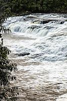 Corredeiras no Rio Chapecozinho. Xanxerê, Santa Catarina, Brasil. / <br /> Rapids in Chapecozinho River. Xanxerê, Santa Catarina, Brazil.