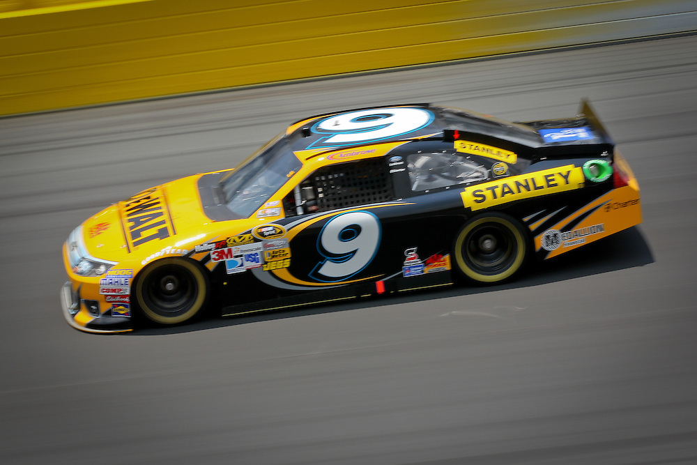 May 24, 2012; Concord, NC USA; NASCAR Sprint Cup Series driver Marcos Ambrose (9) during  for the Coca-Cola 600 at Charlotte Motor Speedway. Photo by Kevin Liles/kevindliles.com